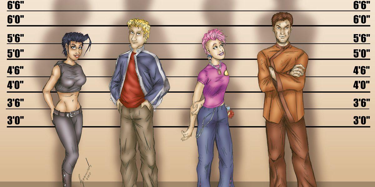 Alina Fox Charaktere