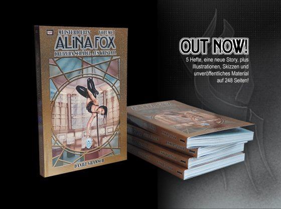 Alina Fox Sammelband Ankündigung